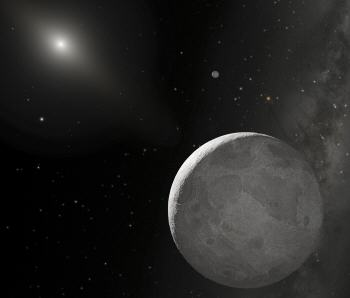 Visualization photo of the Dwarf Planets